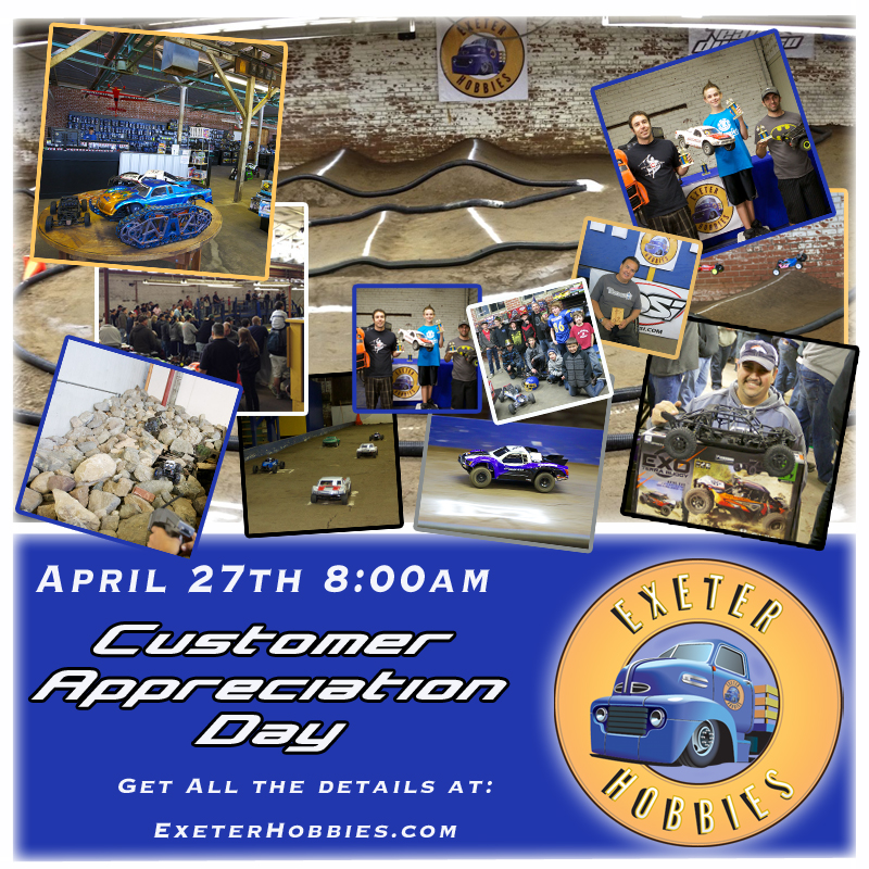 customer appreciation day banner