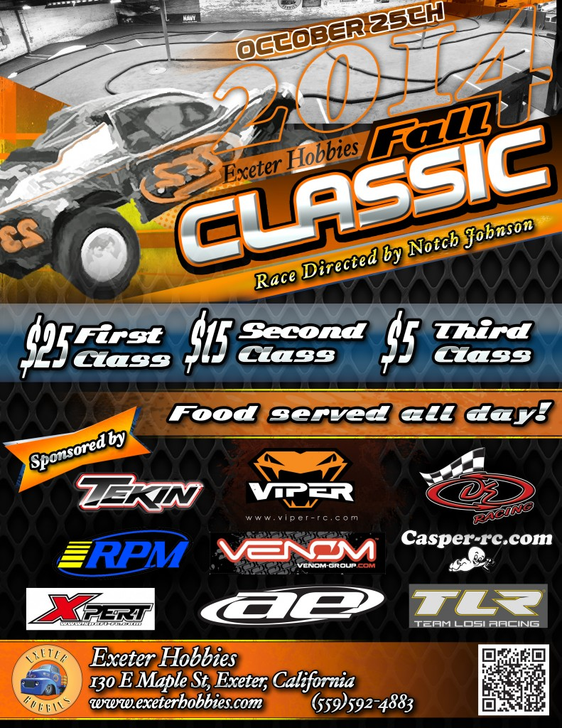 exeter hobbies fall classic